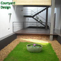 gardening sri lanka landscaping court yard design