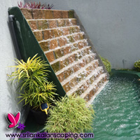 gardening sri lanka landscaping waterfall design screen