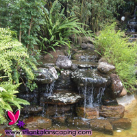 gardening sri lanka landscaping waterfall design natural